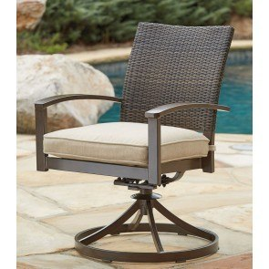 Moresdale Outdoor Swivel Chair (Set of 2)