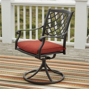 Tanglevale Outdoor Swivel Chair (Set of 2)