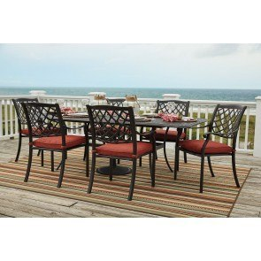 Tanglevale Outdoor Extension Dining Set
