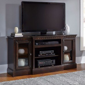 Andover Court 64 Inch Entertainment Console (Tobacco)
