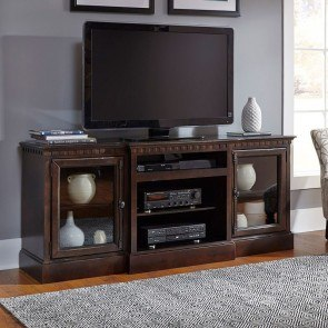 Andover Court 74 Inch Entertainment Console (Tobacco)