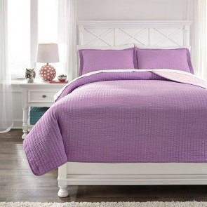 Dansby Lavender/Pink Youth Coverlet Set