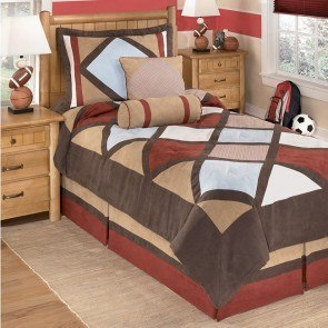 Academy - Multi Youth Bedding Set