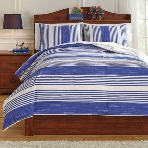 Taries Blue Youth Duvet Cover Set