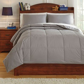 Plainfield Gray Youth Comforter Set