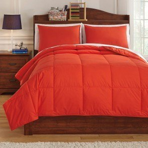 Plainfield Red Youth Comforter Set