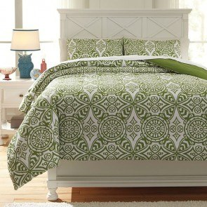 Ina Green Youth Comforter Set