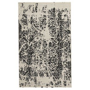 Jag Black and White Large Rug