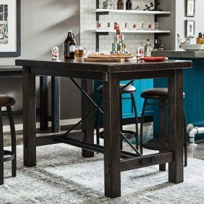 Furniture City Brewing Stout Trestle Bar Table