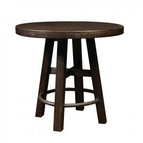 Furniture City Brewing Stout Round Bar Table