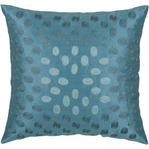 T-3604 Pillow in Peacock Blue (Set of 2)