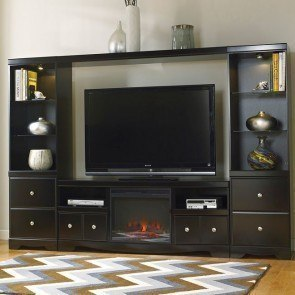 Shay Large Entertainment Wall w/ Fireplace