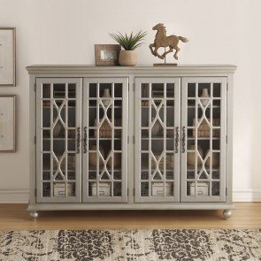 Anthology Meghan 4-Door Chest (Gray)