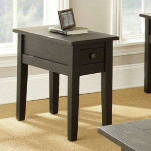 Liberty Chairside End Table (Antique Black)